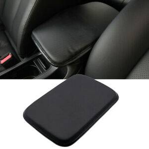 Leather Car Armrest Pad Center Console Cushion Mat Cover Protector Accessories
