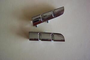1955 Ford New Steering Wheel Chrome Tabs 55 Fairlane Sunliner Crown Victoria 55