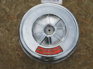 Vintage 1967 68 Ford Mustang 6 Cylinder Chrome Air Cleaner Sports Sprint Falcon