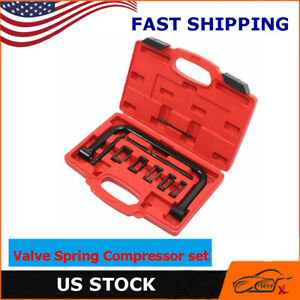 5 Sizes Valve Spring Compressor Pusher Tool For Car Motorcycle Black New