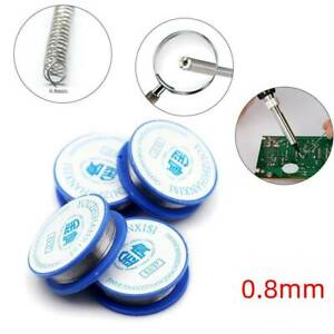 Tin Lead Rosin Core Solder Soldering Welding Iron Wire T Devices Reel 0 8mm Hot