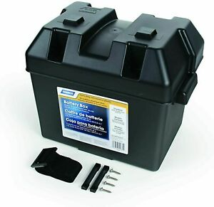 Battery Box Rv Camco Standard Group 24 Trailer Camper Boat Holder Storage