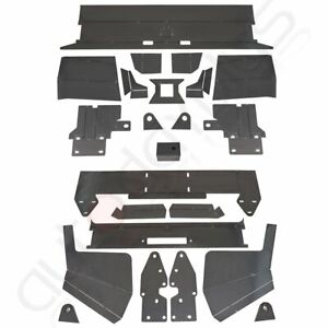 Front Rear Bumper Bare Kit Mount Plate For 1984 2001 Jeep Cherokee Xj Metal