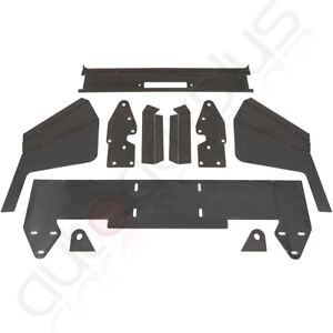 Front Bumper Bare Kit Mount Plate For 1984 2001 Jeep Cherokee Xj Metal