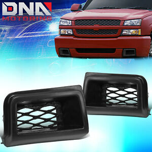 For 2003 2007 Chevy Silverado 1500 Ss Style Air Duct Cover Front Bumper Caliper