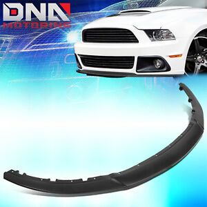 For 2013 2014 Ford Mustang 3 pcs Rp style Front Bumper Lip Lower Chin Spoiler