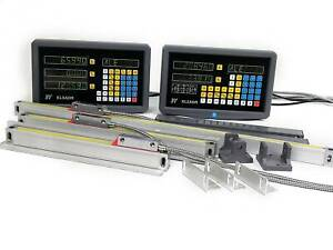 2 3axis Digital Readout Dro Display Linear Scale Encoder For Bridgeport Mill