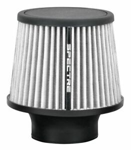Spectre 9138 Cold Air Intake Filter 3 76mm White Washable Clamp On Air Cleaner