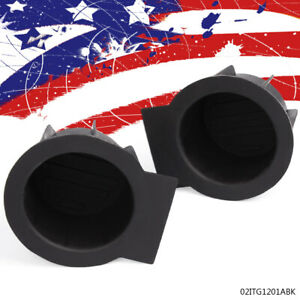 Pair Front Console Cup Holder Insert Liner For Ford F 150 Expedition Navigator U