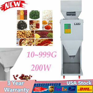 10 999g Automatic Powder Racking Filling Machine Weigh Filler For Tea Grain Us