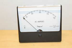 Simpson 03360 Ac Current Style Panel Meter