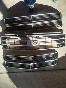 1970 70 Chevelle Malibu Ss El camino Front Grille Gm Nice Read