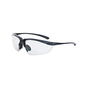 Crossfire Bifocal Safety Glasses With 1 5 Clear Lens Black Frame