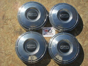 1968 74 Ford F100 Pickup Truck Econoline Van Poverty Dog Dish Hubcaps Set Of 4