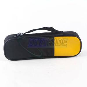 Double Zipper Carry Soft Case bag Fits For Clamp Meter Fluke T5 600 T5 1000