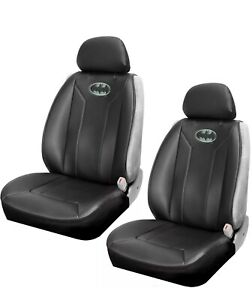 Dc Comics Batman Sideless Seat Cover With Cargo Pocket Set Of Two