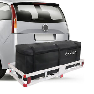 Cargo Luggage Carrier Bag Waterproof Tow Trailer Hitch Mount Storage Cargo Bag