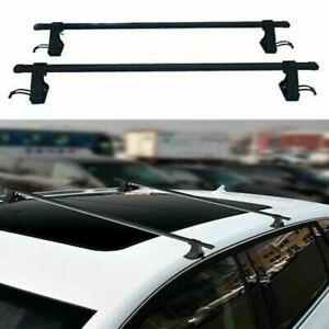 54 Universal Top Roof Rack Cross Bars Luggage For 4 Door Car Suv Truck Jeep