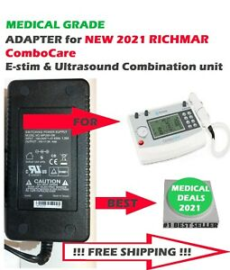 New Medical Grade Power Adapter For Richmar Combocare E stim Ultrasound Device