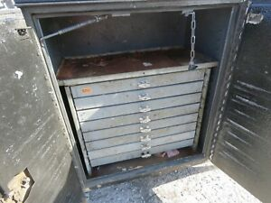 American Eagle Tool Box 8 Drawer Utility Bed Work Vehicle 3ft Wide 28 12 Tall