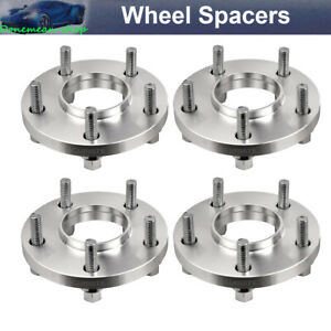 4 Pcs 5 120 15mm 72 56mm 12x1 5 Hubcentric Wheel Spacers For Bmw Series