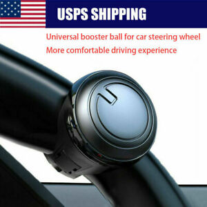 1x Universal Car Steering Wheel Handle Aid Auto Truck Booster Ball Spinner Knob