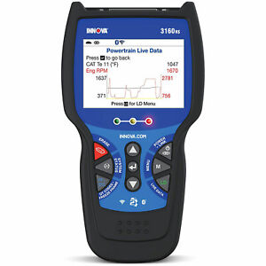 Innova 3160rs Fixassist Tech Bluetooth Code Reader Vehicle Diagnostic Tool