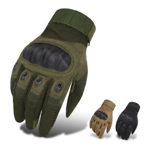 Tactical Carbon Fiber Safety Work Gloves Men Construction Engineering Heavy Duty