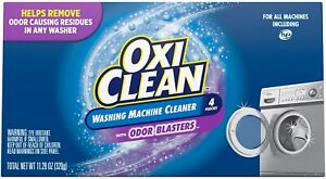 Oxiclean Washing Machine Cleaner With Odor Blasters 4 Count