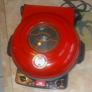 Daesung Artlon Co Ltd Pizza Stone Electric Grill oven cooker Red Guc Clean