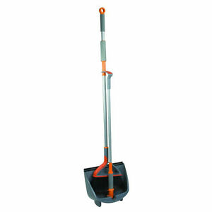Casabella Upright Broom And Dustpan Set For Cleaning And Sweeping Home Floors