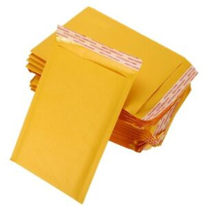 200 100 50 Gold Padded Bubble Envelopes Bags Shipping Cases various Sizes