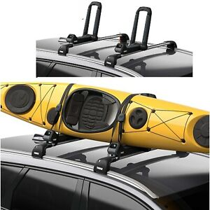 Hull a port Aero Rooftop Kayak Carrier Integrated Strapcatch 1 Kayak