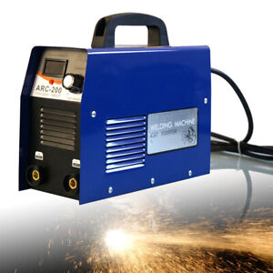 Mini Arc Dc Igbt Inverter Welder Mma Electric Aluminum Welding Machine 110 220v