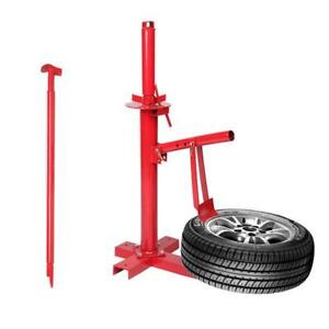 Portable Manual Tire Changer Bead Breaker Tool Machine For Car Truck Trailer Red