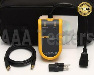 Fluke Vr1710 Single Phase Voltage Power Quality Recorder Vr 1710 Vr 1710