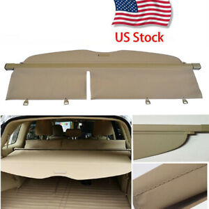 Cargo Cover Rear Trunk Luggage Security Shade For 2008 2013 Toyota Highlander