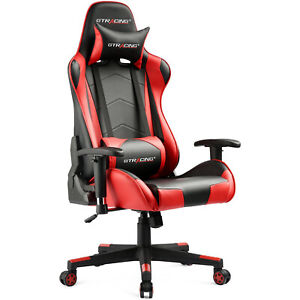 Gtracing Gaming Chair Racing Office High back Computer Game Chair W pillows