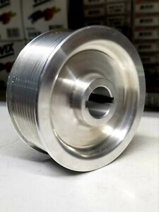 Dallas Performance 4 0 10 Rib Billet Procharger Pulley For C5 And C6 Corvette