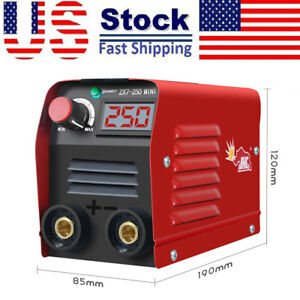 110v Mini Electric Welding Machine Igbt Dc Inverter Arc Mma Stick Welder 20 250a