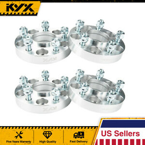 4x Hubcentric Wheel Spacers Adapters 5x114 3 66 1 Cb 12x1 25 1 Inch