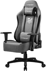 Gtracing Gaming Chair Office Chair Fabric Computer Chair Ergonomic Adjustable