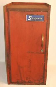 Vintage Snap On Toolbox Tool Box Side Cabinet As Is