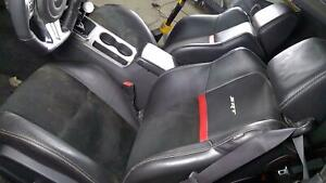 11 14 Dodge Challenger Srt 8 Leather Seat Set front rear Dark Slate Gray