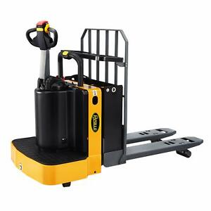 Apollolift Electric Powered Stand On Type End Control Pallet Jack Truck 5500lbs