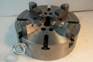 New Rapidhold 10 4 jaw Independent Semi steel Lathe Chuck A2 5 Direct Mount