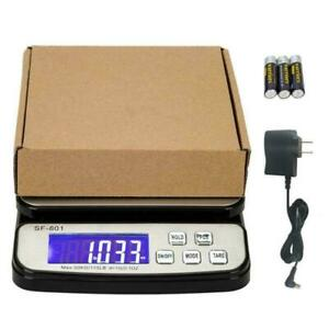 50kg Postal Scale 110lb X 0 1oz Digital Shipping Scale Weight Postage Ac Adapter