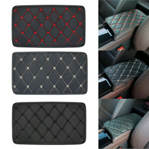 Universal Car Armrest Pad Cover Center Console Box Pu Leather Cushion Mat Pad