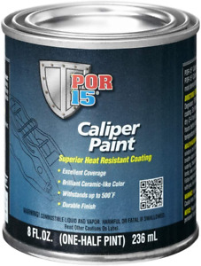 Blue Caliper Paint 8 Fl Oz Heat Resistant Coating Smooth Coverage Durable Finish