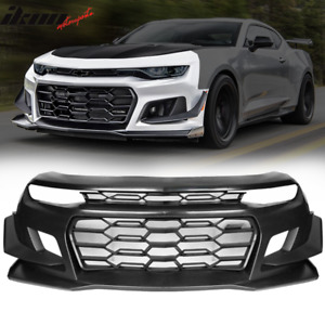 Fits 19 20 Chevy Camaro 1le Style Front Bumper Conversion Guard Unpainted Pp